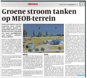 Waterstof en Duurzame economie op MEOB terrein in Oegstgeest